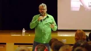 Glen Canning talks to Peel High School Students
