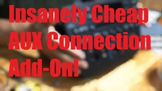 Insanely Cheap Way ($3) to add Auxiliary Connection (iPod/Phone/mp3/etc) to your Car!!
