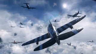 Call of Duty: WWII - P-47 Thunderbolt Plane - Gameplay (PC HD) [1080p60FPS]