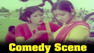 Pattakathi Bairavan Movie : Jayasudha, And SriDevi, Ice Cream Comedy Scene