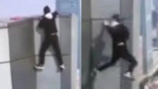 DISTURBING: Stuntman FALLS 62 Stories to His Death