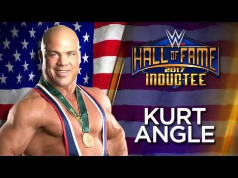 watch Kurt Angle joins the WWE Hall of Fame Class of 2017