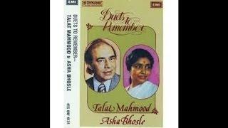 TALAT & ASHA.Film-MEENAR-1954-Sitaron Se Aage''Shama Par Jal Ke Bhi Parwana-[ H Q 'Loud & Clear A