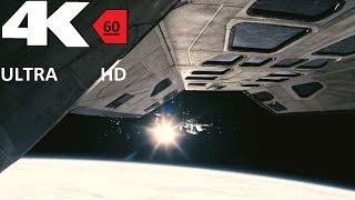 [4k][60FPS] Interstellar Docking Scene HD 4K 60FPS HFR[UHD] ULTRA HD