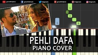 Pehli Dafa Atif Aslam Hindi Song Piano Chords Tutorial Lesson Instrumental Karaoke By Ganesh Kini