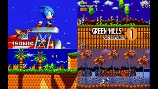Sonic Mania   Armless Sonic + More Green Hill