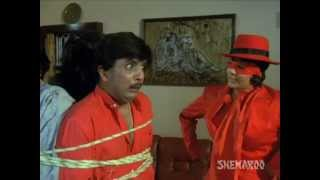 Best comic scene - Kimi Katkar Asrani whipped comedy - Jaisi Karni Waisi Bharni