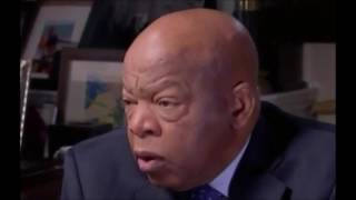 Donald Trump wins John Lewis forced to issue embarrassing retraction