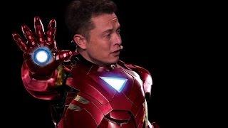 رجل عاد من المستقبل -  IRON MAN الحقيقي من هو ؟!