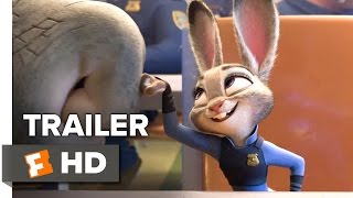 Zootopia Official Trailer #2 (2016) - Disney Animated Movie HD