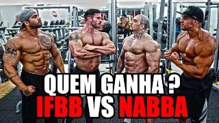IFBB VS NABBA | QUEM GANHA ?