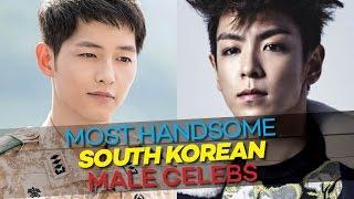 9 MOST HANDSOME Korean Male Celebrities