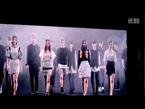 [FanCam] 141018 SMTOWN - VCR @ SMTOWN LIVE IN SHANGHAI