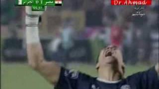 اهداف مصر و الجزائر بتعليق جزائري