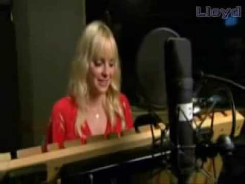behind the scenes Chipmunks Squeakquel Charice sings No One