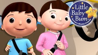 Seat Belt Song | Car Safety | Nursery Rhymes | Original Songs By LittleBabyBum!