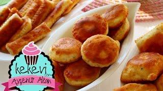 Pişi / Puf Kabaran Mayasız Hamur Kızartması (Peynirli Baharatlı) Ayşenur Altan