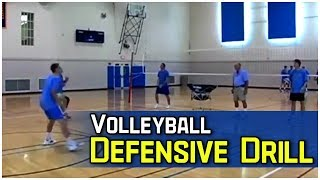 Volleyball Side Step and Run Step Drill  featuring  Coach Al Scates