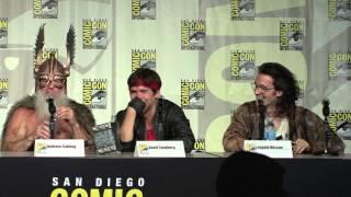 Kung Fury Comic Con Panel 2015