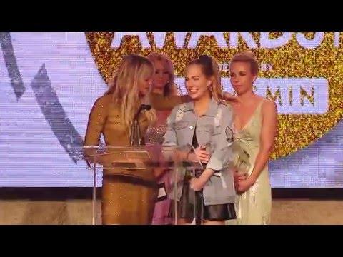 2016 XBIZ Awards - Jessie Andrews & Carter Cruise Win 'Best Sex Scene - All Girl' Award
