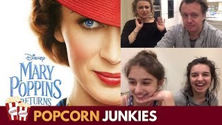 Mary Poppins Returns Official Teaser Trailer Family Reaction and Review