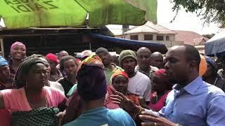 *MARUFUKU MGAMBO KUNYANYASA WAFANYABIASHARA NDOGO NDOGO - DC ARUMERU