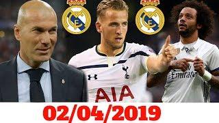 ريال مدريد يجهز عرضاً ضخماً لضم هاري كين / زيدان يكشف مصير فاران ومارسيلو وبيل مع ريال مدريد