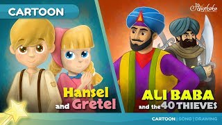 Hansel and Gretel stories for kids cartoon animation
