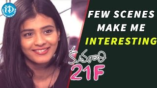 Few Scenes Make Me Interesting - Kumari 21F Actress Hebah Patel || Talking Movies with iDream