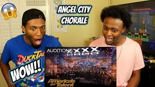 Angel City Chorale: Massive Choir Makes It Rain With 'Africa' - America's Got Talent 2018 (REACTION)