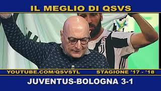 QSVS - I GOL DI JUVENTUS - BOLOGNA 3-1  - TELELOMBARDIA / TOP CALCIO 24