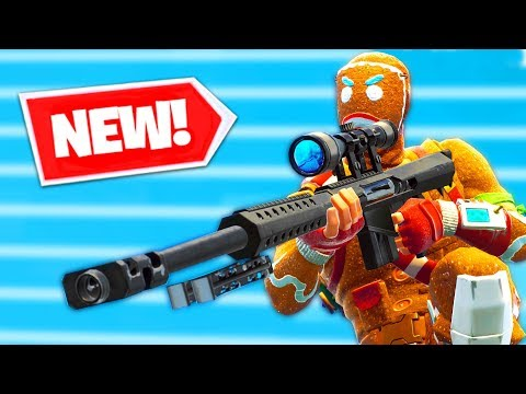 NEW HEAVY SNIPER Gameplay in Fortnite Battle Royale