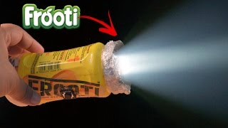 How to Make a Flashlight using Waste Plastic Bottles
