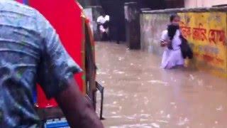 Flood in Dhaka City 2016