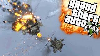 EEN EPISCH LUCHTGEVECHT!   GTA 5 Online Funny Moments