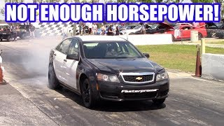 Uncle Sam Hits The Track And It Didn't Go As Planned. Project 9 Sec Cop Car Ep. 6!