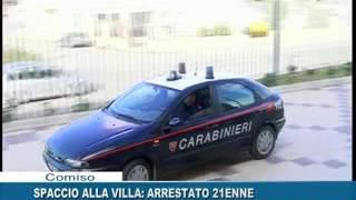SPACCIO ALLA VILLA: ARRESTATO 21ENNE