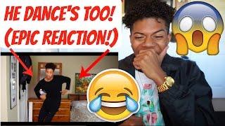 I FOUND MY TWIN ON YOUTUBE?!!(CRAZY!)    REACTION!