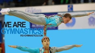 2014 Acrobatic Worlds, Levallois (FRA), Finals Day 1 - We are Gymnastics!