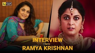 Ramya Krishnan Interview with Baradwaj Rangan | Baahubali 2: The Conclusion