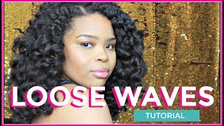 Big loose beach waves hair tutorial *Giveaway Closed* | Nikita Lauren