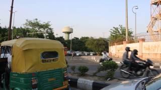 Some cars eating Delhi