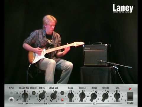 Laney VC15-110 electric guitar amplifier demo