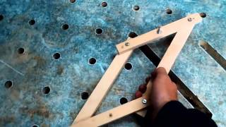 21-How to make a center finder / comment faire un ''marqueur de centre''