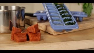 A Genius Way to Use an Ice Cube Tray | Kitchen Solutions | Food How To