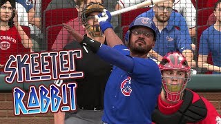 MLB The Show 18 Skeeter Rabbit Road To The Show (CF) Chicago Cubs vs Reds MLB 18 RTTS