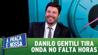 Danilo Gentili tira onda no Falta Horas   A Praça É Nossa (12/10/17)