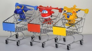 Learn Colors With Super Wings Toys - Finger Paint