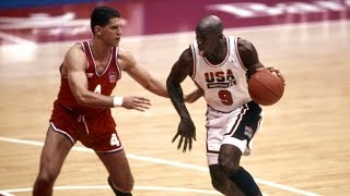 1992 USA Dream Team vs Croatia Barcelona Olympics Basketball Gold Medal Game FULL MATCH English