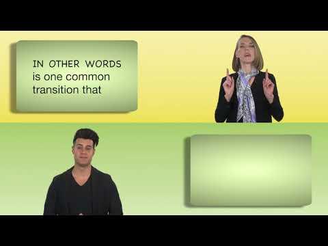 Everyday Grammar: Common Transition Words
